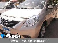 Rent Car Nissan Sunny New